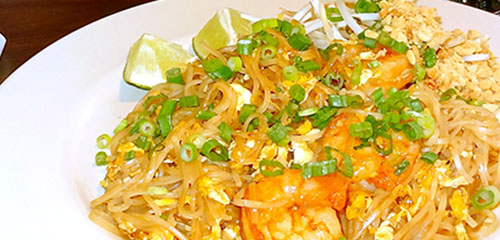 Mai Thai Restaurant Noodles and Fried Rice